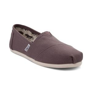 Grey TOMS [Size 10]
